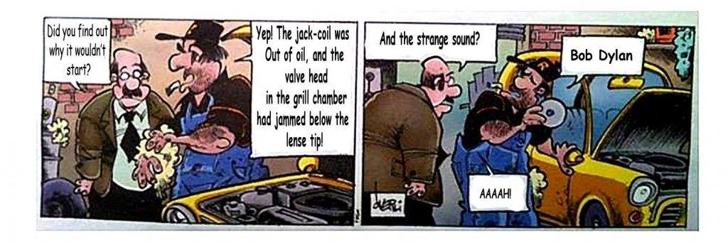 pondus cartoon. Copyright Frode Øverli